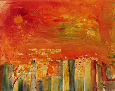 Painting - Summer Reflections by Jun Jamosmos