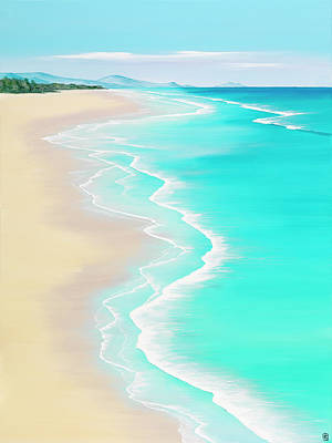 Wave Painting - Summer Rendezvous by Colin Perini