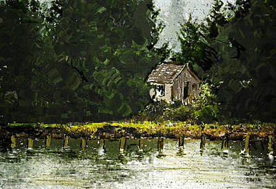 Painter Digital Art - Summer Retreat by Dale Stillman