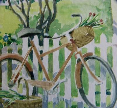 Tv Set Digital Art - Summer Ride by Florene Welebny