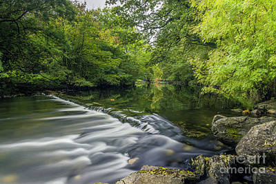 Photograph - Summer River Llugwy by Ian Mitchell
