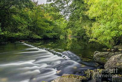 Photograph - Summer River Llugwy by Ian Mitchell