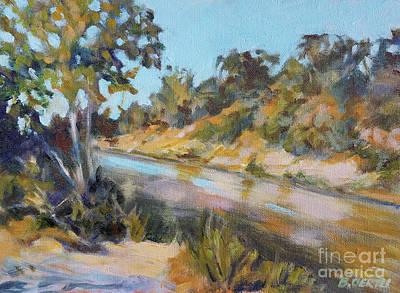 Painting - Summer, Riverbend Park by Barbara Oertli