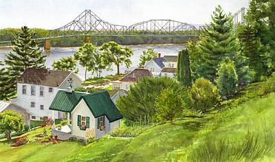 Painting - Summer Riverfront by Phyllis Martino