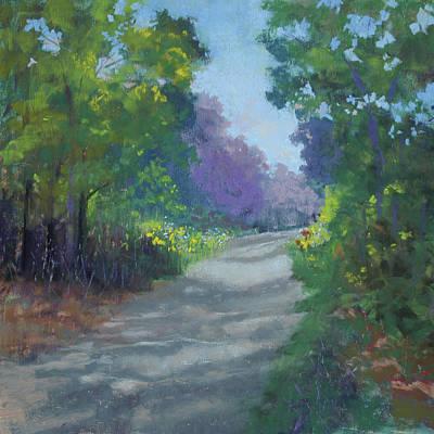 Pastel - Summer Road by Lorraine McFarland