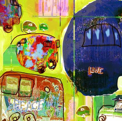Digital Art - Summer Roadtrips No.1 by Zsanan Narrin