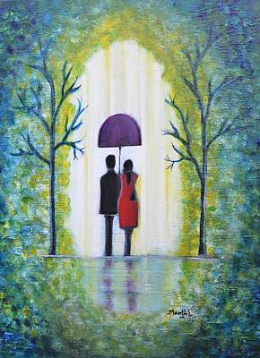 Painting - Summer Romance by Manjiri Kanvinde