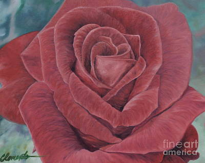 Painting - Summer Rose by Barbara Barber
