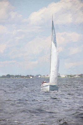 Photograph - Summer Sail by Karen Lynch