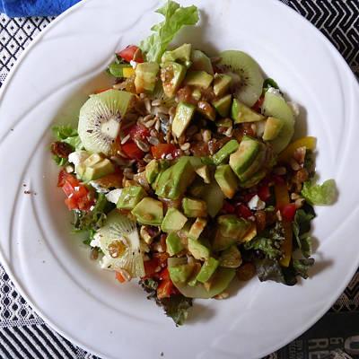 Photograph - Summer Salad by Joel Deutsch