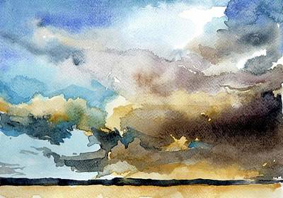 Summer Sandstorm Art Print by Stephanie Aarons