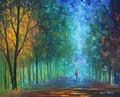 Summer Scent Art Print by Leonid Afremov