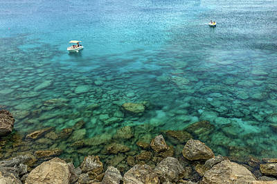Turquoise Stones Photograph - Summer Sea by Stelios Kleanthous