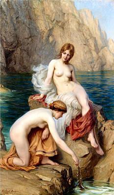 Summer Seas 1912 Art Print