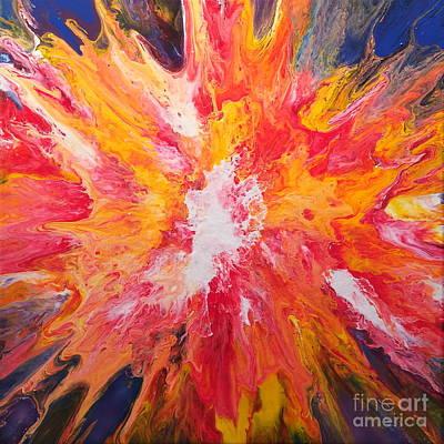 Painting - Summer Sforzando by Lon Chaffin