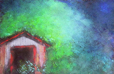 Mixed Media - Summer Shack by Sandra Silva