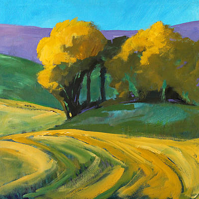Painting - Summer Shade by Nancy Merkle