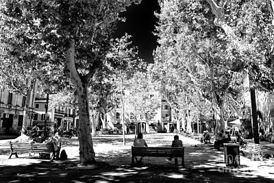 Photograph - Summer Shadows In Avignon by John Rizzuto