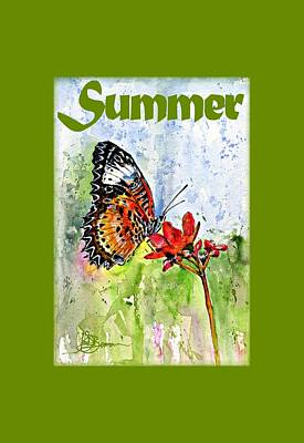 Painting - Summer Shirt by John D Benson