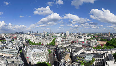 Photograph - Summer Skies Over London by Stewart Marsden