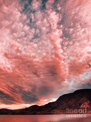 Skaha Lake Photograph - Summer Skies by Tara Turner