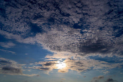 Photograph - Summer Sky by Derek Dean