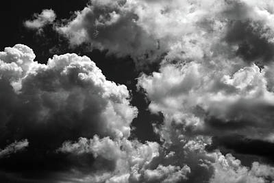 Photograph - Summer Sky Drama 1 by Mary Bedy