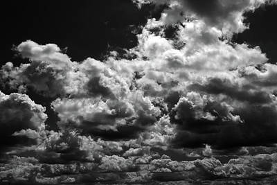 Photograph - Summer Sky Drama 2 by Mary Bedy