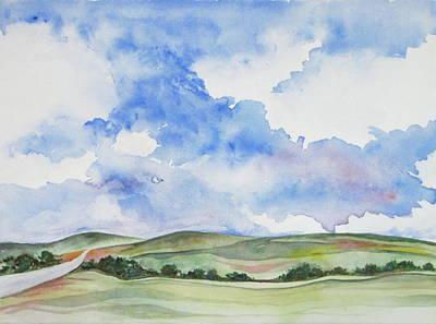 Painting - Summer Sky by Renee Goularte