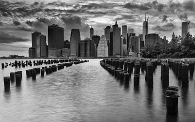 New York City Skyline Photograph - Summer Skyline by Mike Lang