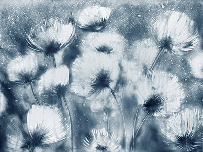 Summer Snow Art Print by Elena Vedernikova