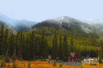 Photograph - Summer Snow On Sulpher Mountain by Nina Silver