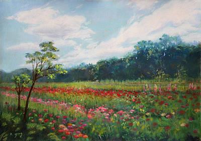 Pastel - Summer Solstice by Nancy Yang