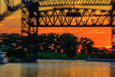 Photograph - Summer Solstice Bridge by Stewart Helberg