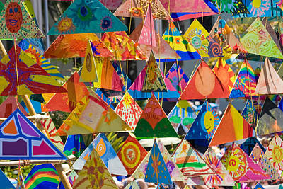 Photograph - Summer Solstice Triangles by Roger Mullenhour