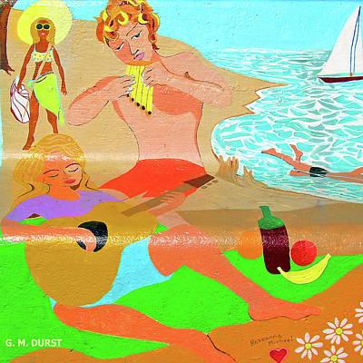 Summer Song Art Print by Michael Durst