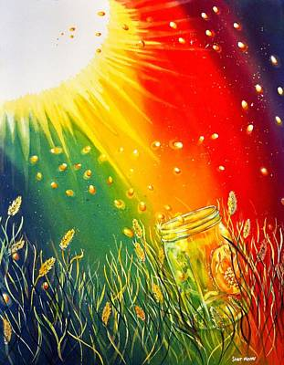 Painting - Summer Sparkle by Starr Weems