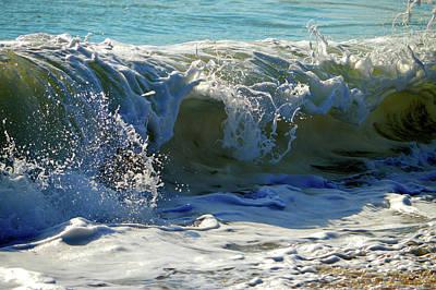 Walking In Tide Photograph - Summer Splash by Dianne Cowen