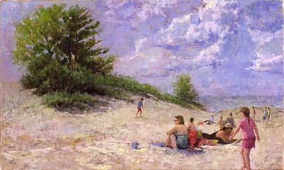 Wall Art - Painting - Summer Splendor by Miguel Malagon