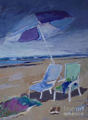 Summer Squall Painting - Summer Squall by Diane Ursin