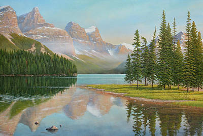 Painting - Summer Stillness by Jake Vandenbrink
