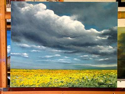 Painting - Summer Storm by Boris Garibyan