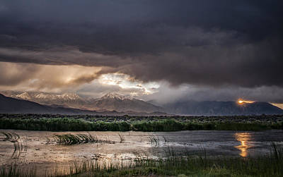 Photograph - Summer Storm by Cat Connor
