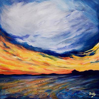 Painting - Summer Storm by Debi Starr