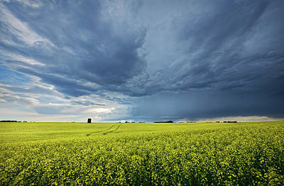 Photograph - Summer Storm Over Alberta by Dan Jurak