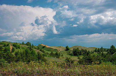 Photograph - Summer Storm Over The Dunes by Gary McCormick