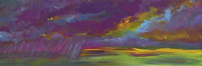 Painting - Summer Storm by Terri Einer
