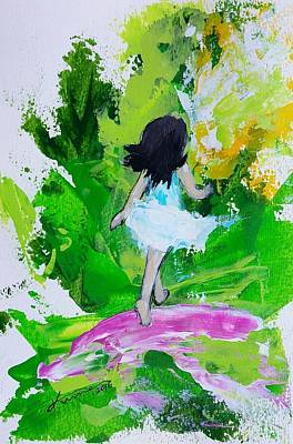 Painting - Summer Story by Kume Bryant