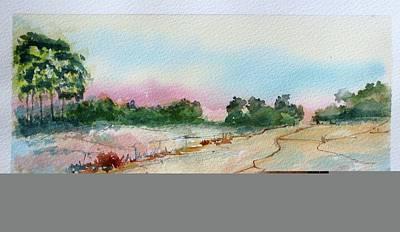 Karoo Painting - Summer Stream by Harold Kimmel