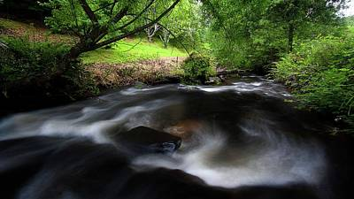 Photograph - Summer Stream by Tim Nichols